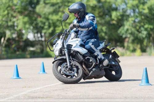 Motorrijbewijspoint Rosmalen motor rijtest